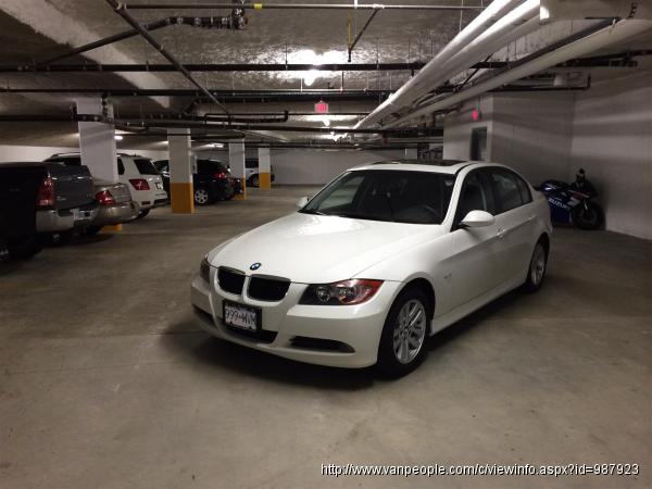 08 白色宝马 BMW 323i sport..