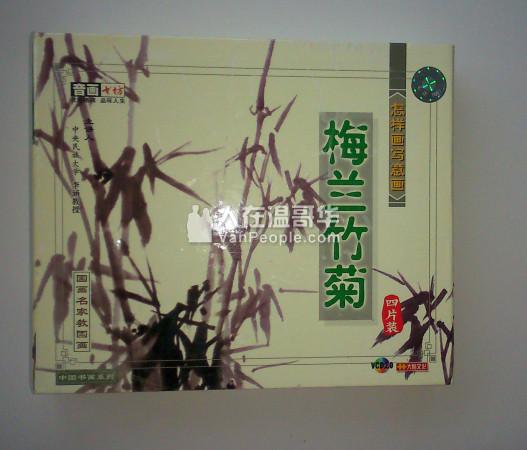 名家教授怎样画梅兰竹菊 CD 4 PC