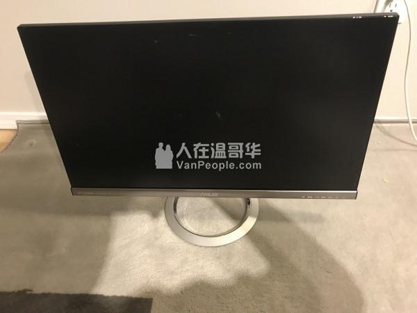 出一台27寸华硕电脑屏幕 ips面板 用不到7个月