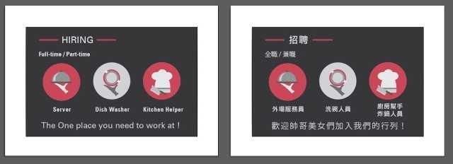 美味關係 徵工作夥伴
