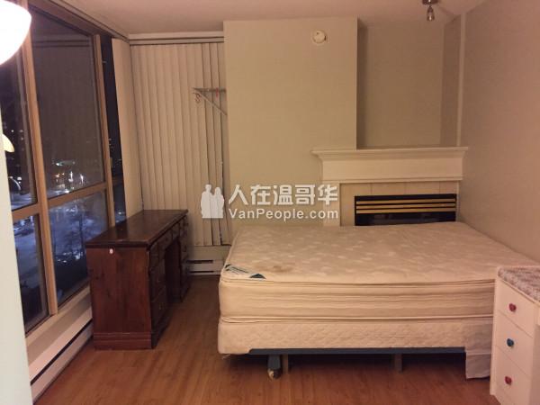 Richmond-Brighouse公寓 月租$700 招女室友