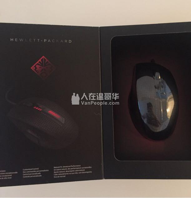 白菜价出售全新HP游戏鼠标