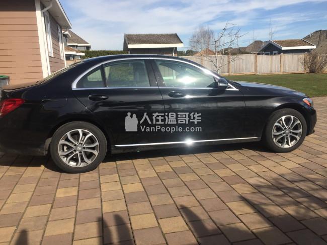 2015 奔驰 c300 4-matic 低公里 完美保养  回流 甩卖