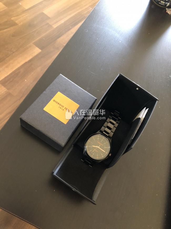 便宜賣 9成新乔治菲登1919 Fedonmatic VII 机械手表
