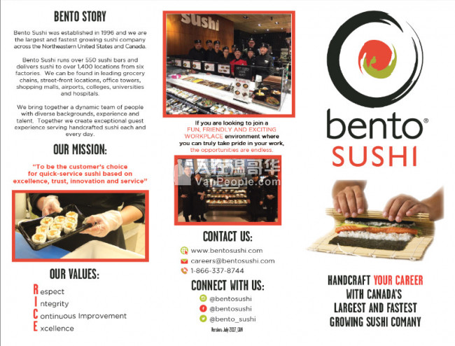 Sushi Food Prep Teammate