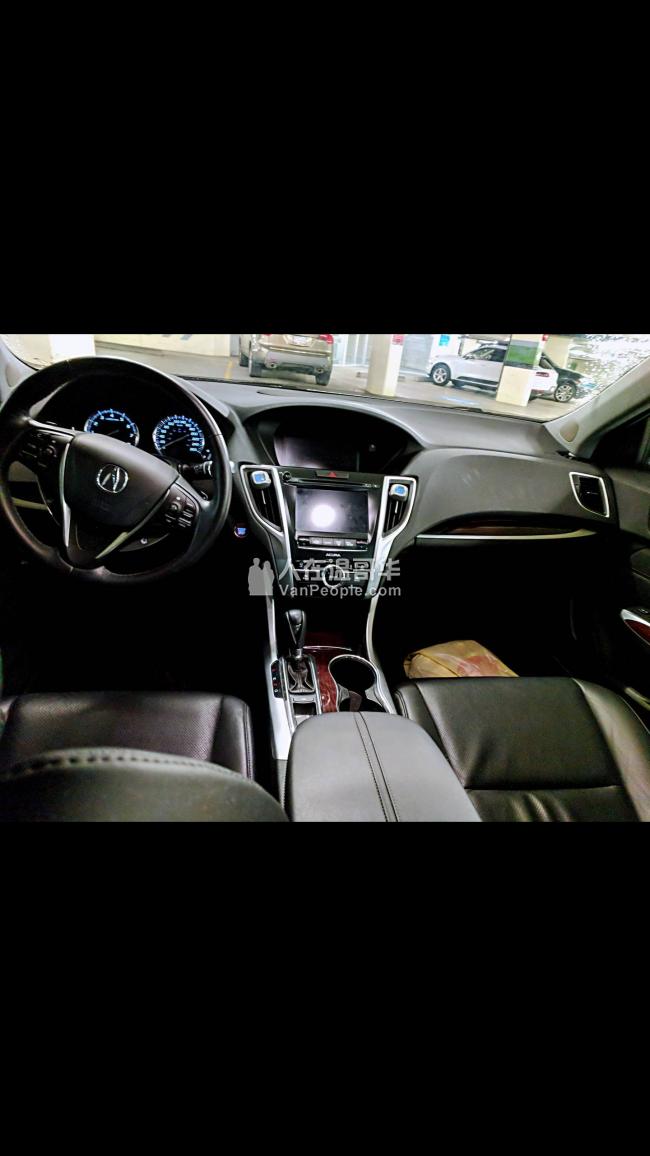 轉lease 2017 Acura TLX