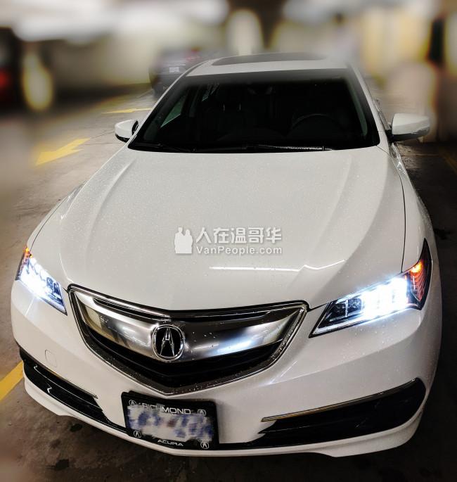 轉Lease Acura TLX 2017 电话:604-551-8620