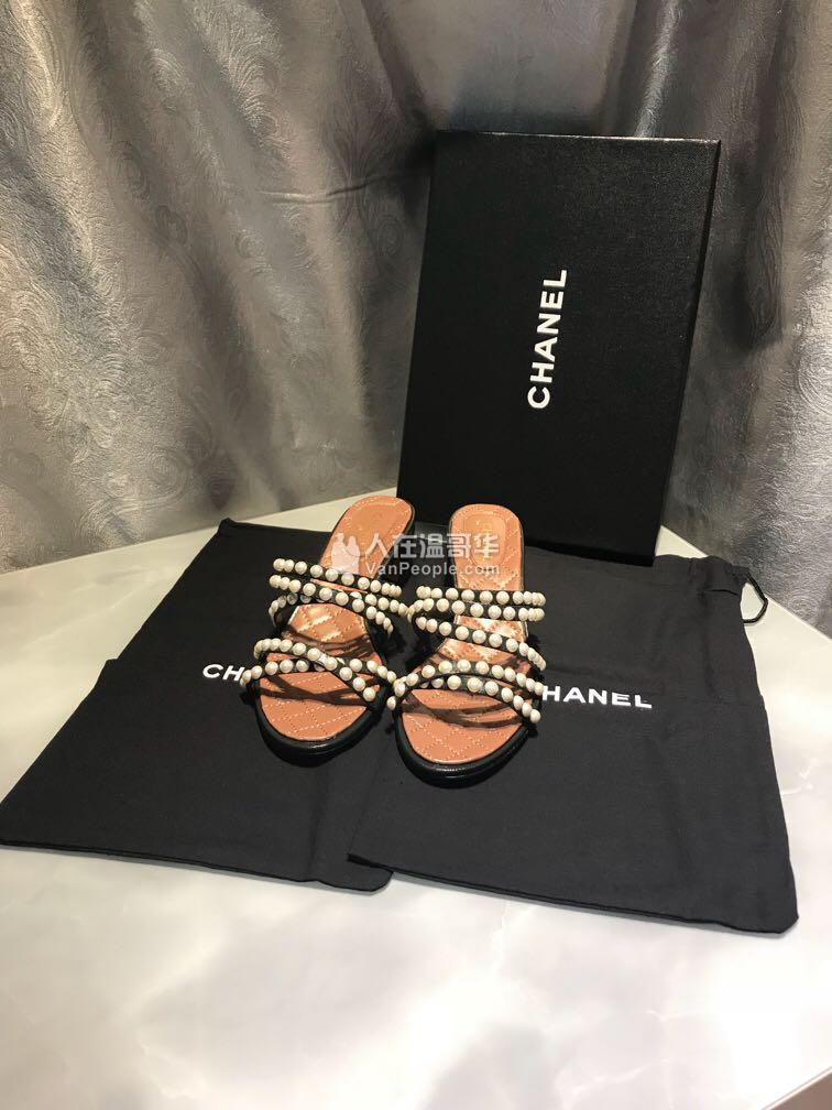 #實名置頂商家# Chanel 涼鞋