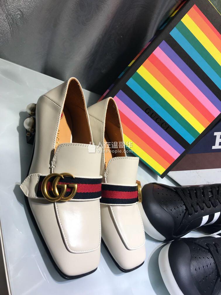 #实名置顶商家# Gucci 珍珠鞋