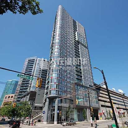 出租Downtown高层公寓Studio 和 1 Den 近天车站