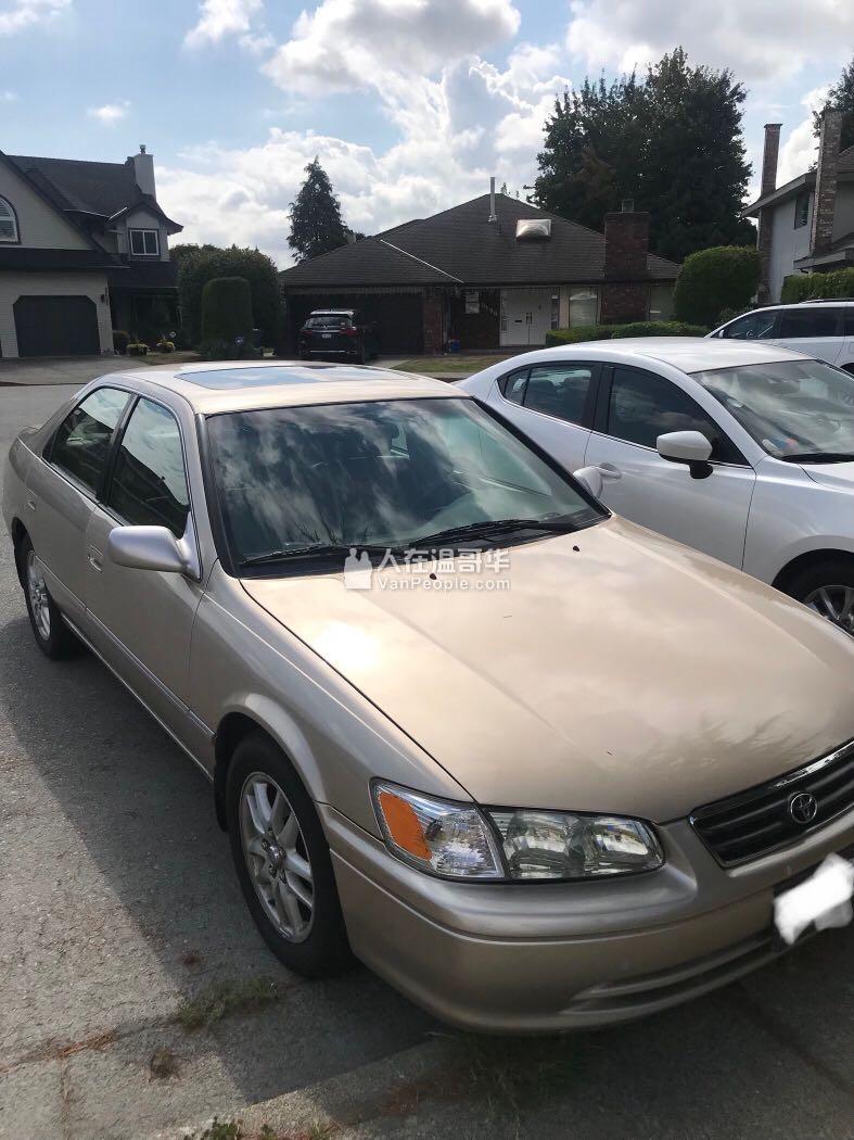 2000年Camry V6 保养如新