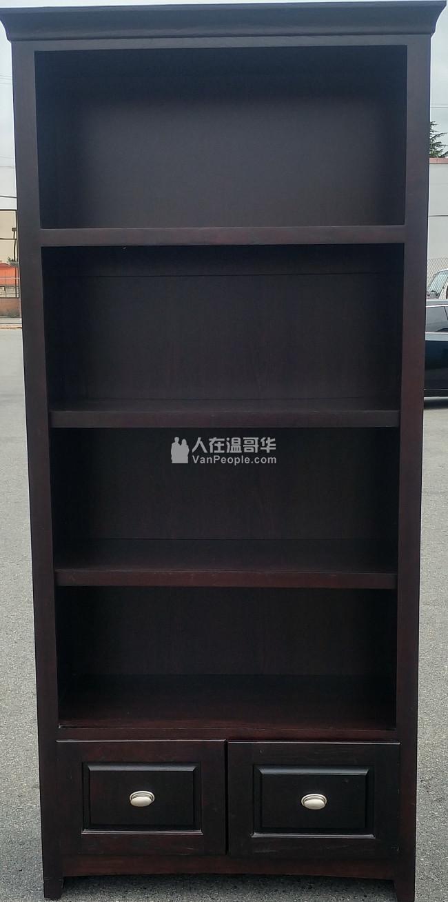 高档实木书柜 注意不是书架 200$ 可以有偿运送