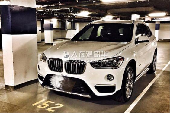 2017 BMW X1 转lease