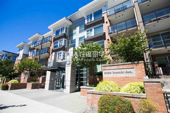 Richmond近Walmart&Kwantlen列治文-沃尔玛&昆特兰大学附近宽敞明亮两房一卫公寓