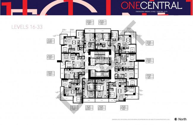 【温哥华楼花买卖】One Central  29 万起 最值得期待素里市最高天车站楼花 即将开卖