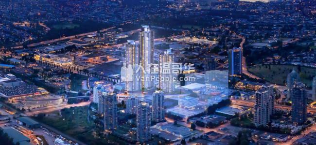 【加西置业楼花团购】 *GILMORE PLACE*  ONNI年度大盘 本拿比最令人期待的大型规划社区