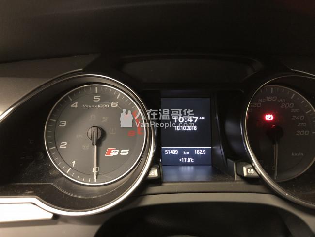 一手好车转让: Audi S5, 2010年