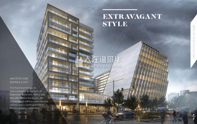 【公寓王】Richmond Center正对面!改建计划的中心点!顶级公寓Paramount横空出世!