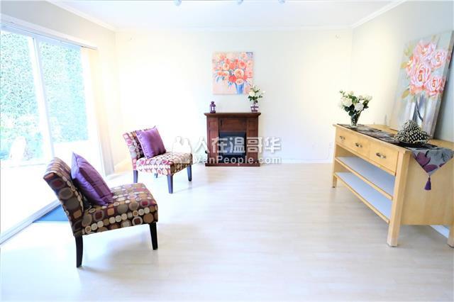 列治文安静街区独立屋整幢出租,3卧室大后院居住舒适,近中小学,入读Steveston-London Secondary