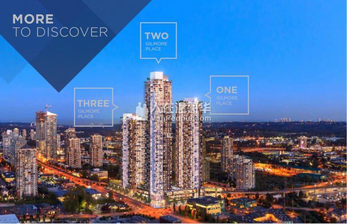 64层摩天公寓地标北本那比GilmorePlace。