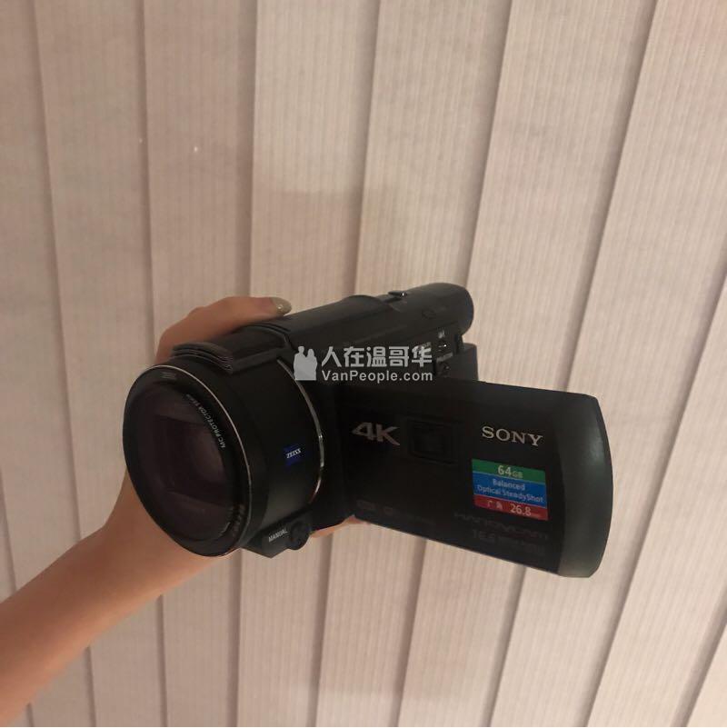 索尼摄像机AXP55