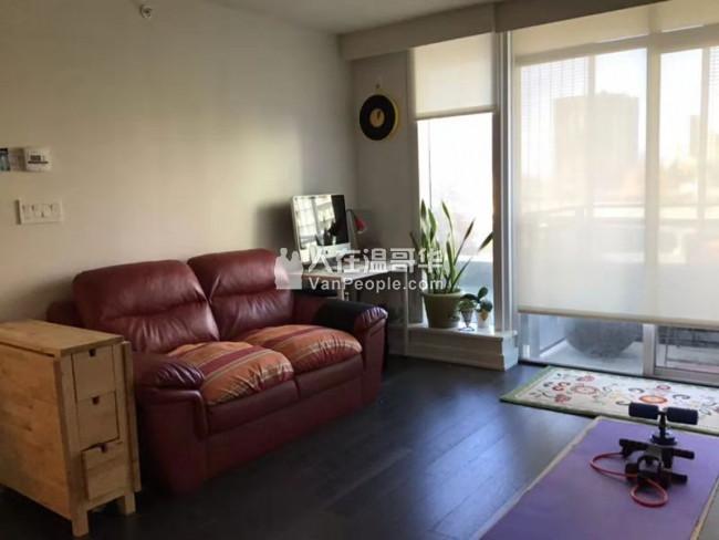 温哥华市中心 Yaletown附近一室一厅公寓出租