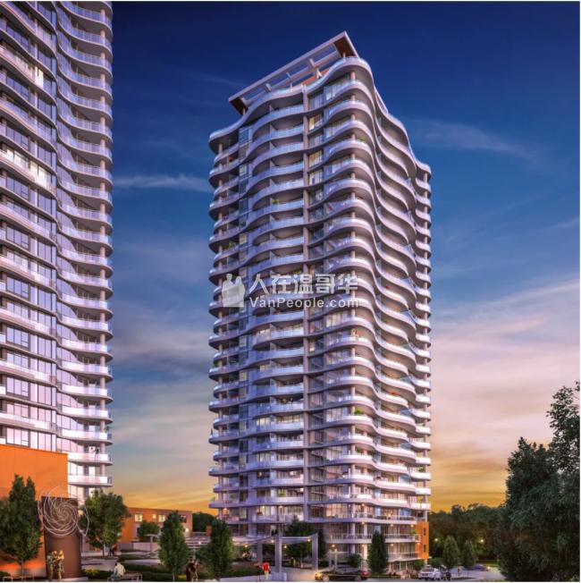 【加西置业楼花团购】 *Linea* 素里市中心高层公寓大厦 前瞻