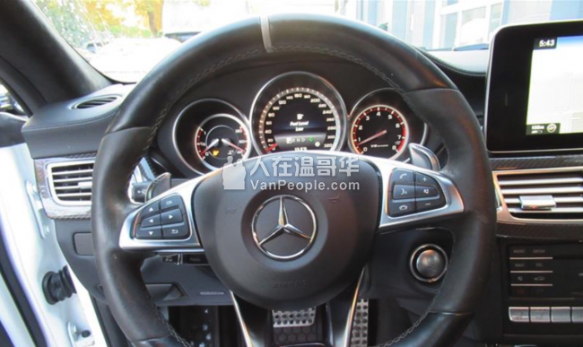 2015 Mercedes-Benz CLS 63s AMG