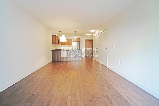本那比 Edmonds 4 年新公寓一房一廳