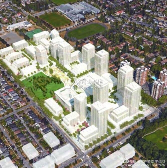温哥华 温西区Cambie Gardens 大型豪华社区