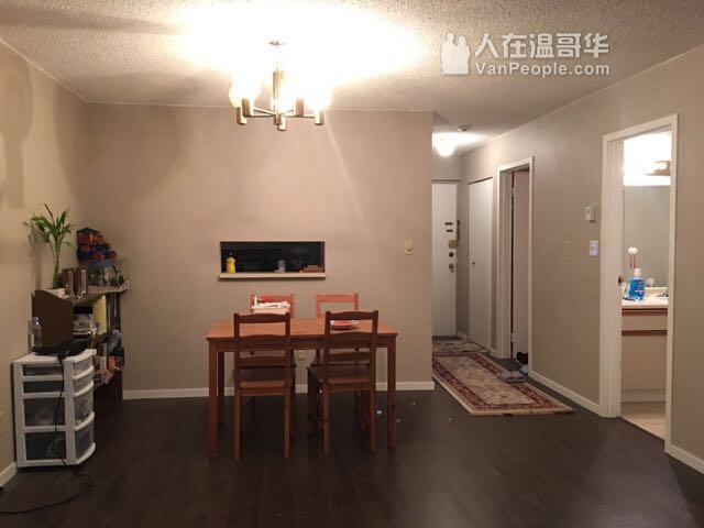 Metrotown正对面价格实惠大一居室公寓出租