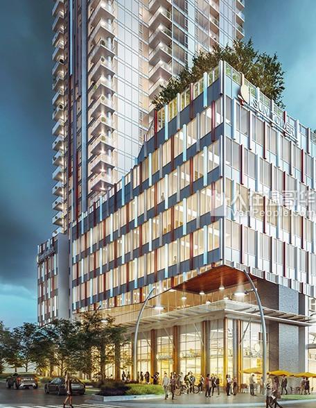 【VVIP楼花团购】【 Sun Tower 2】续风摩一时的Metrotown sun tower高尚住宅系列再次闪耀登