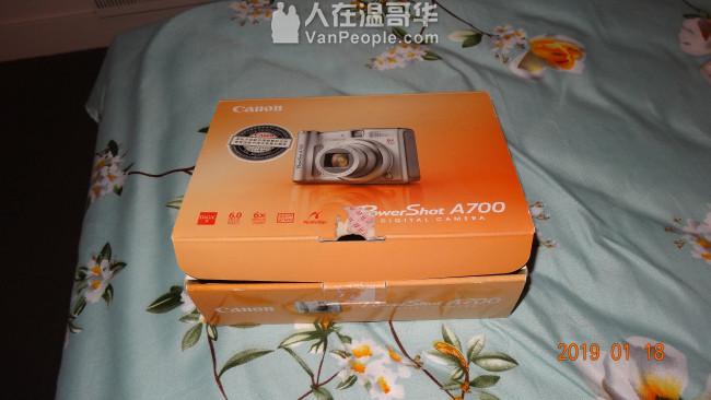 佳能相機出售 日本原裝 附送充電電池