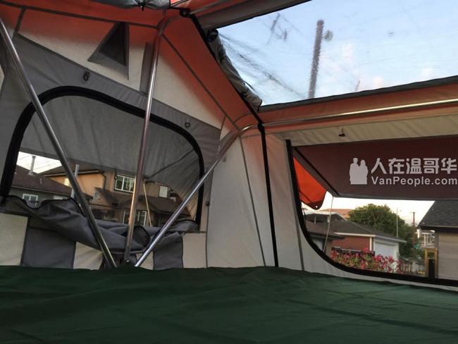 全新车顶帐篷出售1988睡3-4人