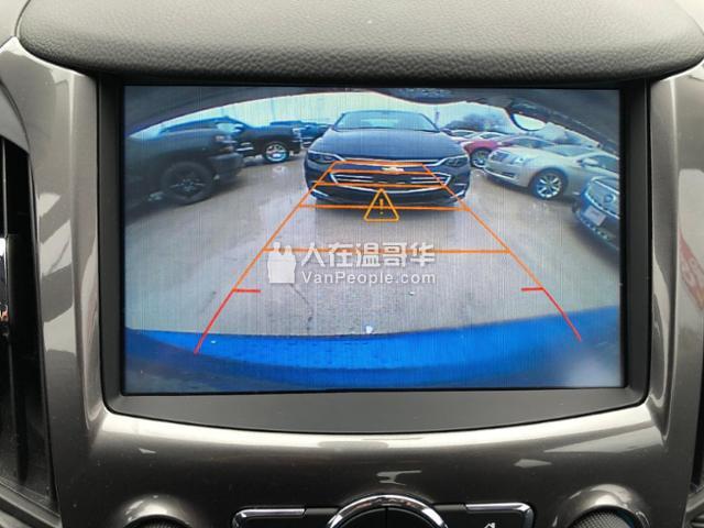 2017 雪佛兰 科鲁兹 仅仅1万多公里 后摄像头,大屏幕
