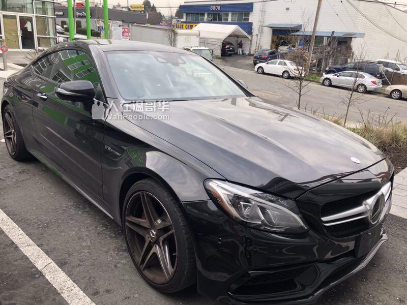 2017 奔驰Benz 高配C63s amg coupe转lease
