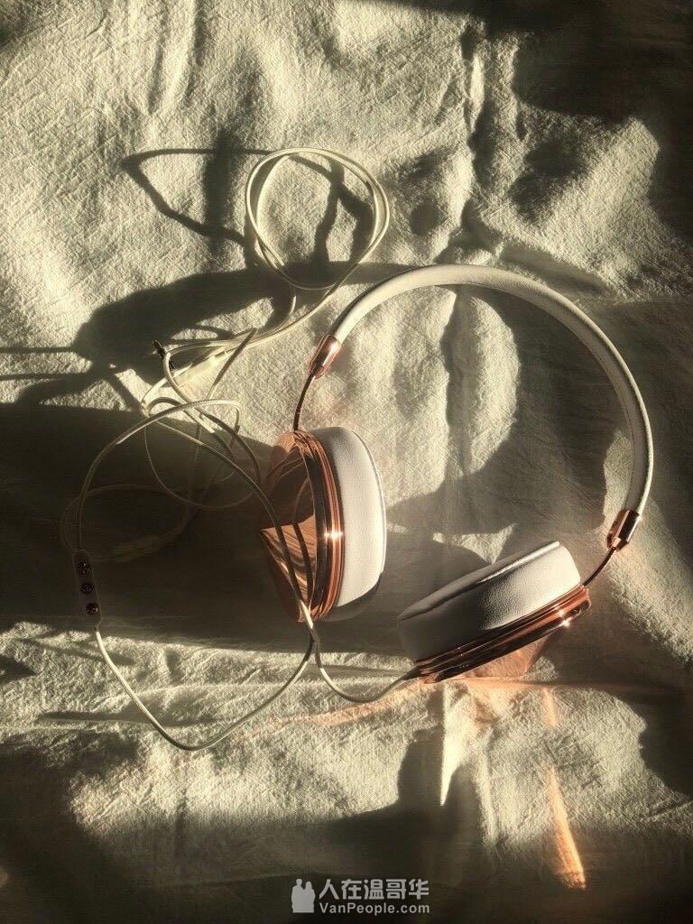 FRENDS耳机Taylor 9.9新 带原盒和小票 玫瑰金