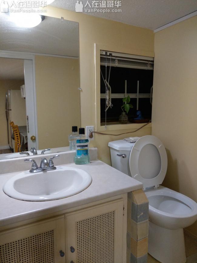 温西好位置,新装半地下两室出租
