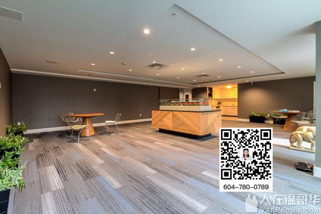 Metrotown中心地带,南朝向,2房1卫1厅刚过户的全新公寓开始招租!