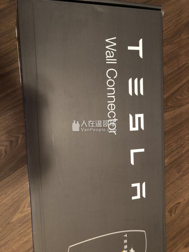全新Tesla Wall Connector墙充