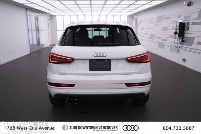 2016 Audi Q3 2.0T Progressiv 10000首付 月供含税379