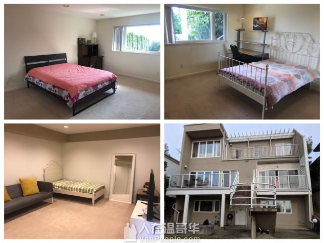 西温三居室出租 房间宽敞 阳光充足 家具家电齐全 随时入住