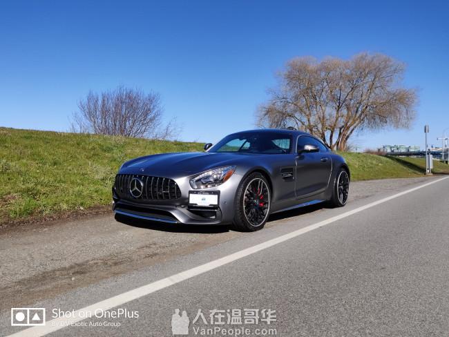 2018 奔驰 AMG GTC 超低公里数,转lease