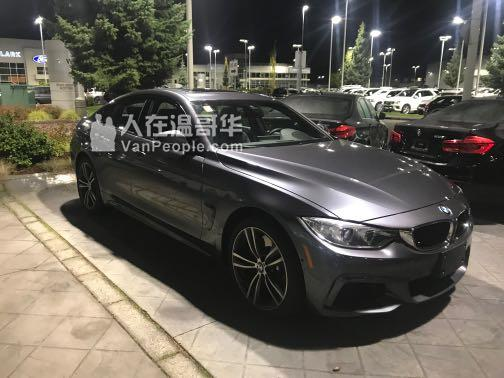 ❗️❗️❗️全网超值2017年BMW 440 Gran coupe Xdrive顶配转lease