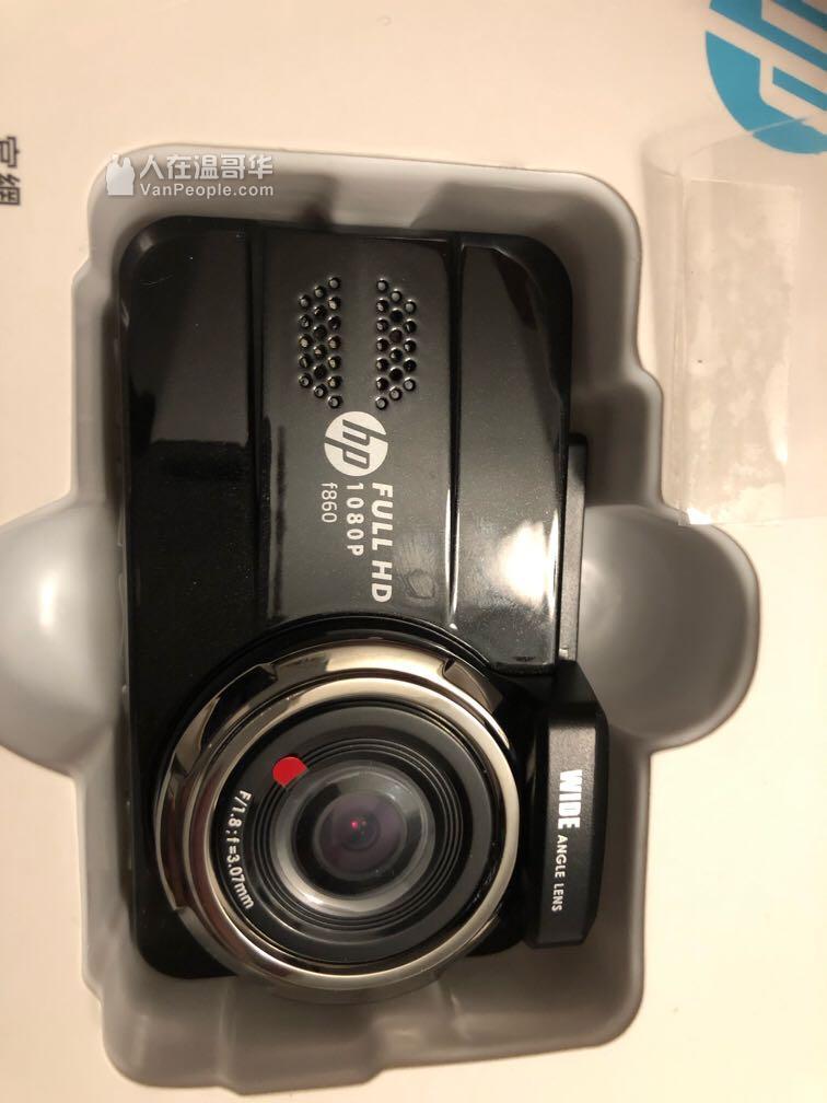 hp f860 前后摄像头 行车记录仪