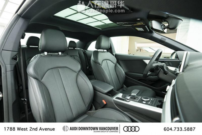 2018 Audi A5 2.0T Technik quattro 月供含税809