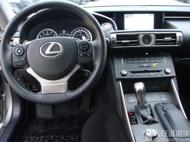 (已售)2015 Lexus IS250 AWD*Luxury PKG 豪华包*本地一手*干净历史纪录*不可错过
