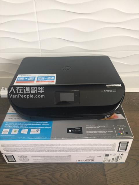 惠普打印HP4520 保持度很好 加包装盒