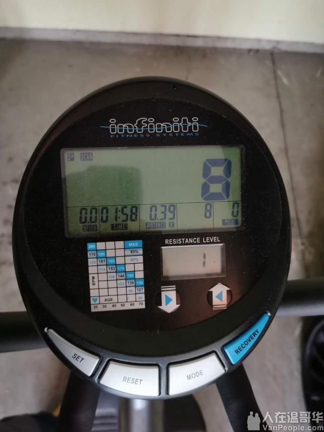 室内健身好帮手,9成新多功能名牌椭圆机转让,功能正常,可测心率