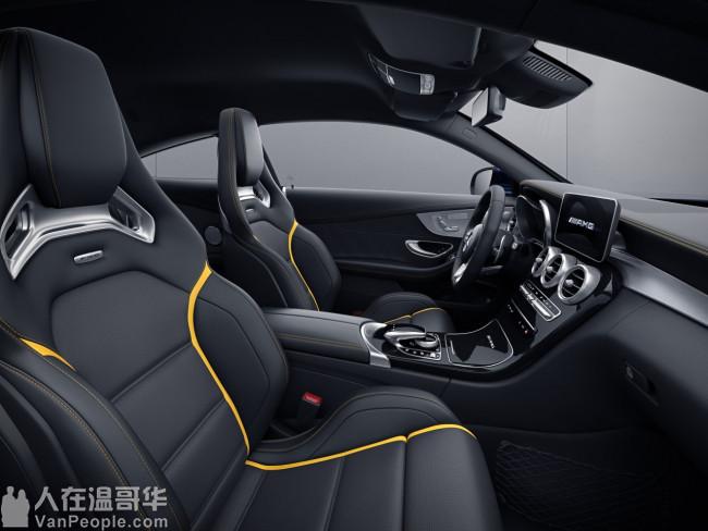 全城唯一现车 全新顶配2019奔驰双门C63 S AMG 不用等 立刻提车